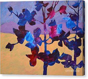 Flowering Tree Canvas Print by Barbara Tibbets