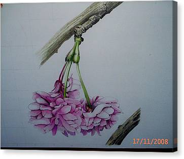 Flowers Canvas Print by Per-erik Sjogren