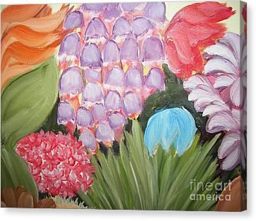 Flowers Canvas Print by Rachel Carmichael