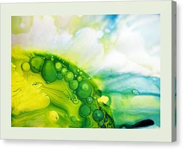 Fluidism Aspect 35 Frame Canvas Print