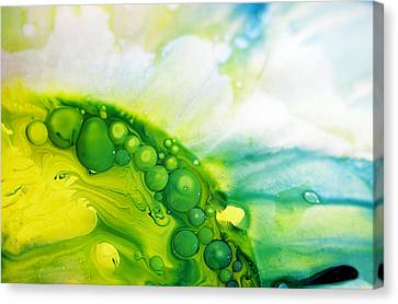Canvas Print featuring the photograph Fluidism Aspect 35 Photography by Robert Kernodle