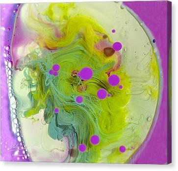 Fluidism Aspect 459 Photography Canvas Print by Robert Kernodle