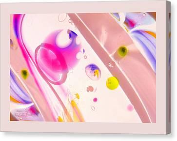 Fluidism Aspect 561 Frame Canvas Print by Robert Kernodle