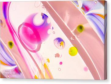 Canvas Print featuring the photograph Fluidism Aspect 561 Photography by Robert Kernodle