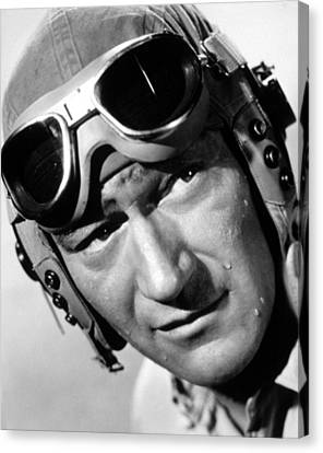 Flying Leathernecks, John Wayne, 1951 Canvas Print by Everett
