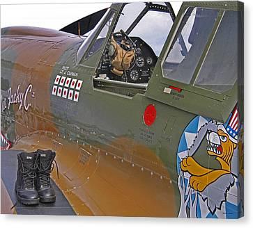 Flying Tigers 02 Canvas Print by Jeff Stallard