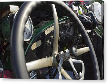 Speedometer Canvas Print - Focus by Peter Chilelli