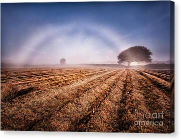 Fog Bow Canvas Print by John Farnan