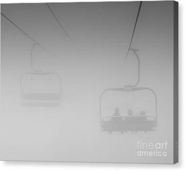 Canvas Print featuring the photograph Fog by Eunice Gibb