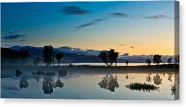 Fog Over The Pond IIi Canvas Print