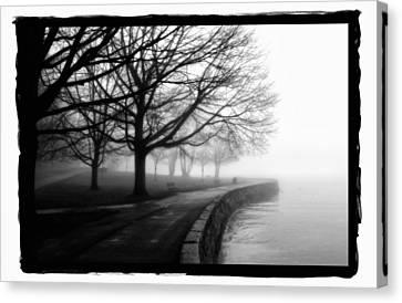 Foggy Day H-1 Canvas Print by Mauro Celotti