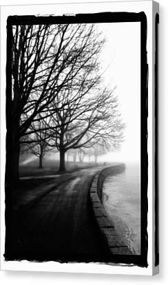 Foggy Day V-5 Canvas Print by Mauro Celotti