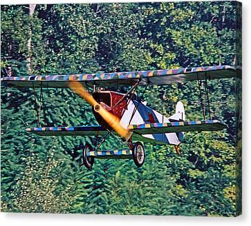 Fokker Dvii 02 Canvas Print by Jeff Stallard