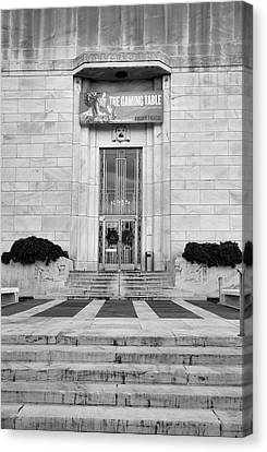 Folger Theatre I Canvas Print by Steven Ainsworth