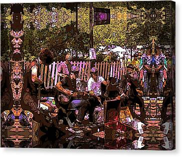 Folklife Buskers Canvas Print by Tim Allen