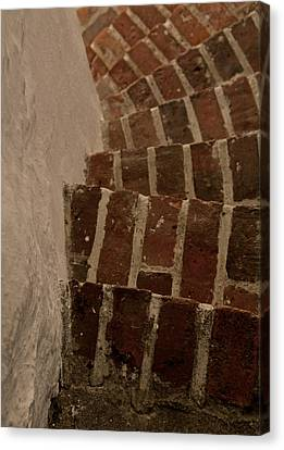 Follow The Curve Canvas Print by Odd Jeppesen