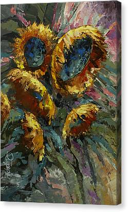 'follow The Sun 2' Canvas Print by Michael Lang