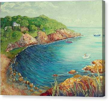 Folly Cove Landing  Canvas Print