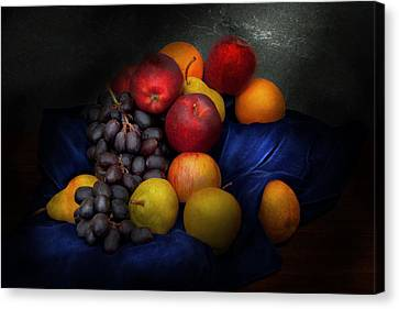 Food - Fruit - Fruit Still Life  Canvas Print by Mike Savad