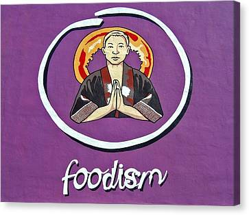 Foodism ... Canvas Print by Juergen Weiss
