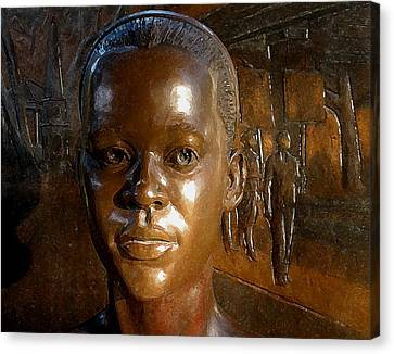 Canvas Print - Foot Soldiers For Justice by Warren Clark