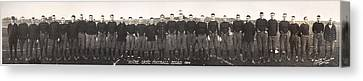 Football, Notre Dame Football Squad Canvas Print by Everett