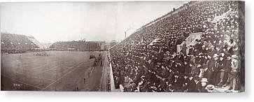 Football, Panorama Of The Harvard - Canvas Print by Everett
