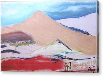 Foothills Canvas Print by Rod Ismay