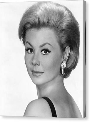 1963 Movies Canvas Print - For Love Or Money, Mitzi Gaynor, 1963 by Everett