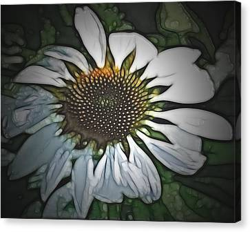 Canvas Print featuring the digital art For Your Love by Holly Ethan
