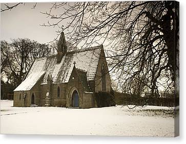 Ford, Northumberland, England Country Canvas Print by John Short