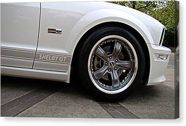 Canvas Print featuring the photograph Ford Shelby Gt by Nick Kloepping