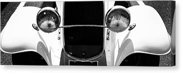 Ford Tryptych 2 Canvas Print by Dapixara Art
