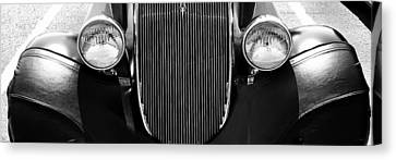 Ford Tryptych 3 Canvas Print by Dapixara Art