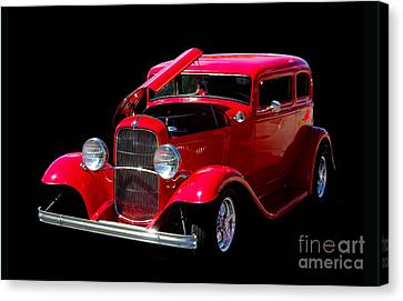 Ford Vicky 1932 Canvas Print by Vicki Pelham