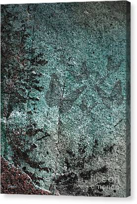 Forest Abstract Canvas Print by Eena Bo