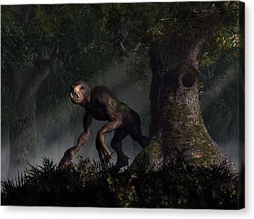 Forest Creeper Canvas Print by Daniel Eskridge