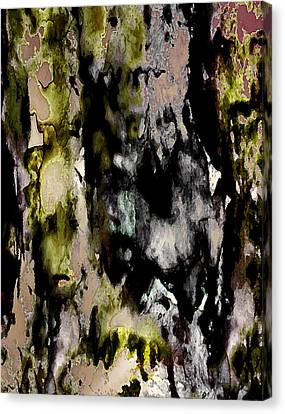 Forest Crones Detail Canvas Print by Richard Fisher