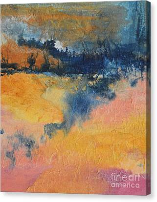 Forest Edge Canvas Print by Barbara Tibbets