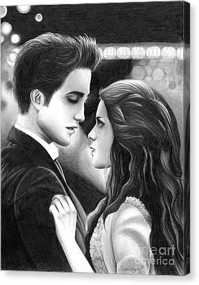 Forever Canvas Print by Crystal Rosene