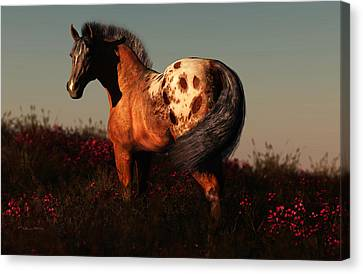 Forever Free Canvas Print by Melissa Krauss