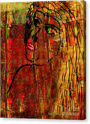 Forgotten Canvas Print by Fania Simon