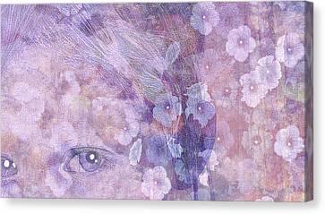 Forgotten Flowers Canvas Print by Susan  Solak