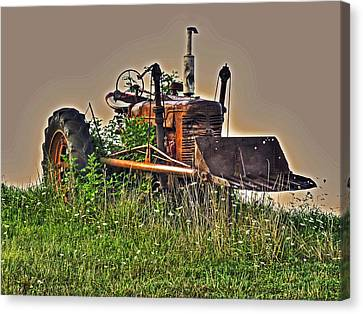 Canvas Print featuring the photograph Forgotten IIi by William Fields