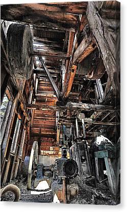Forgotten Mill Canvas Print
