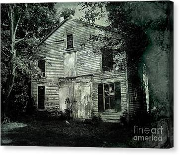 Forgotten Past Canvas Print by Colleen Kammerer
