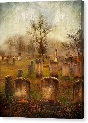 Forgotten Souls  Canvas Print by Karen Lynch