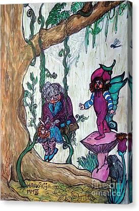 Forgotten Summer Canvas Print by Koral Garcia