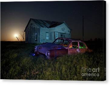 Forgotten Texas Canvas Print by Keith Kapple