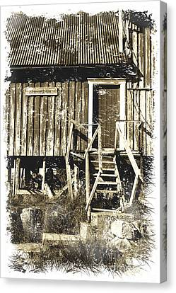 Old Barns Canvas Print - Forgotten Wooden House by Heiko Koehrer-Wagner